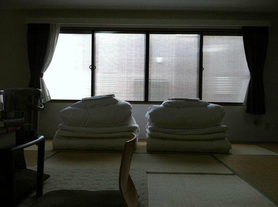 Arc Hotel Yamato: Japanese style room (larger room)