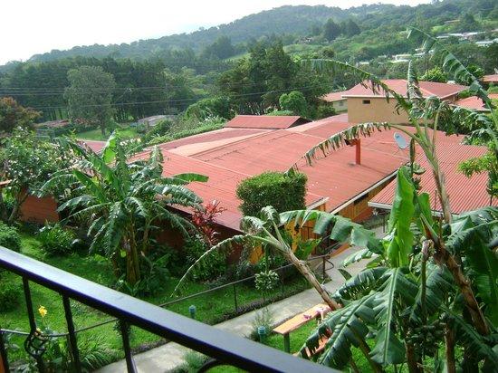 Hotel Cipreses Monteverde Costa Rica: balcony view