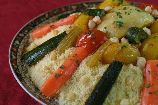 Les delices du Maroc : Couscous