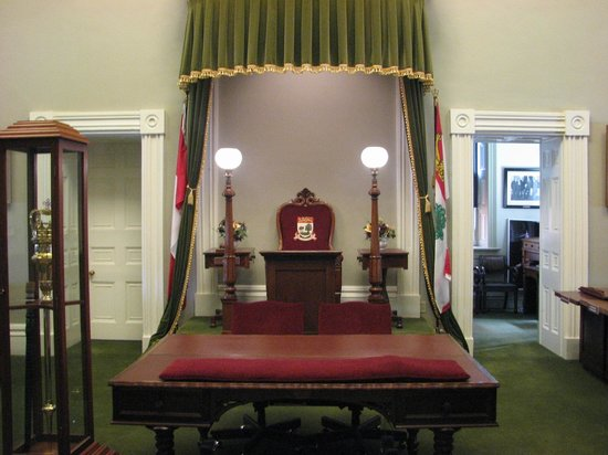 Province House National Historic Site of Canada: The legislative assembly