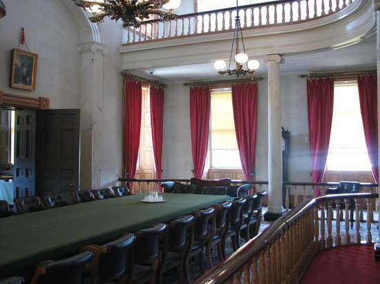 Province House National Historic Site of Canada : The confederation conference room