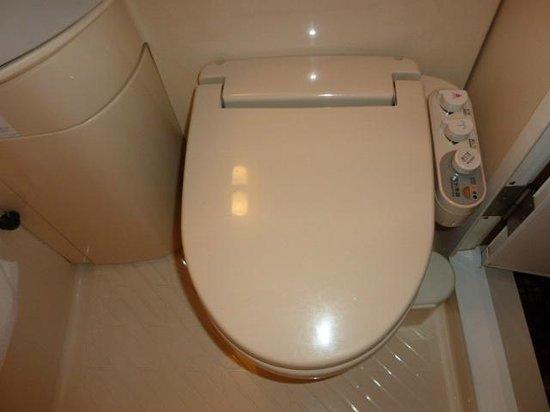Hotel Paco Jr Kitami : トイレはウォッシュレット