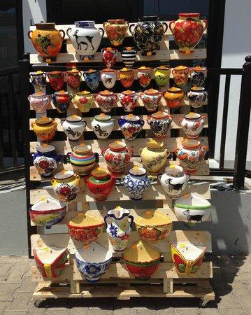 Tienda Canaria TAFENA: Jarrones para pared en cerámica. hechos a mano