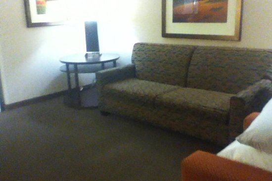 Embassy Suites by Hilton Milpitas Silicon Valley: Room 728 Living Area