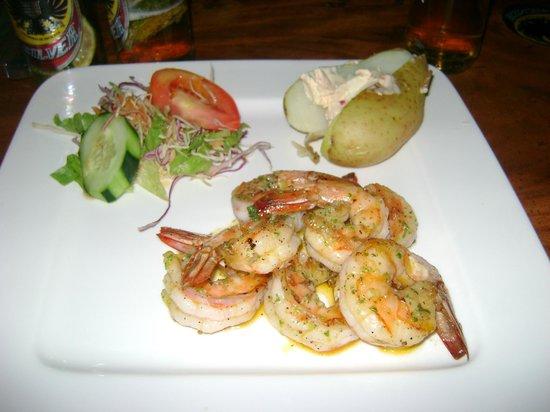 El Arado Restaurant: jumbo shrimp