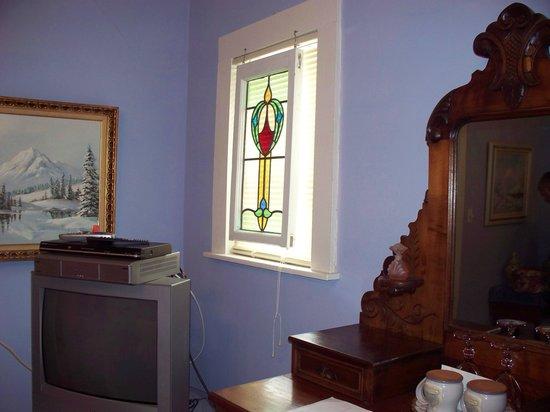 Alexander Homestead: View in room.