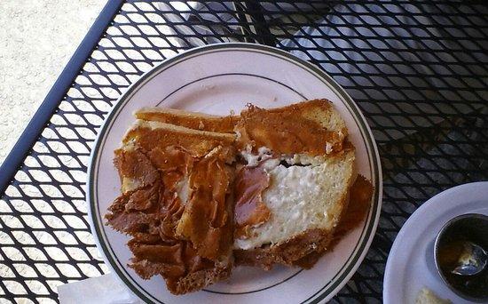 Columbian Cafe : bleu cheese bread