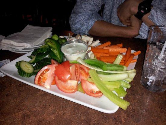 Slapshots: Veggie Platter