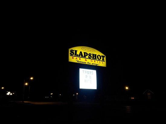 Slapshots: Slapshot Sign