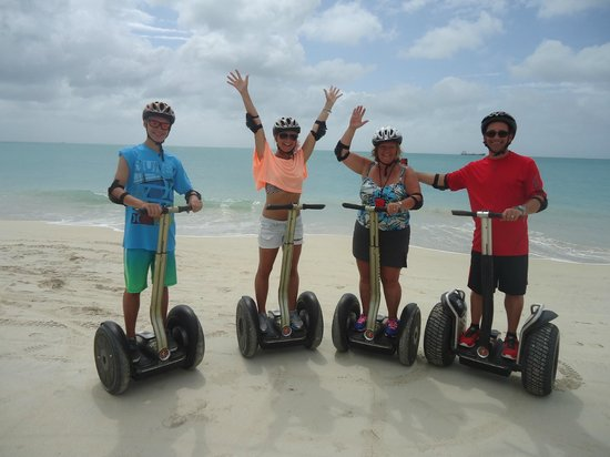 Segway Antigua Tours: The Beach