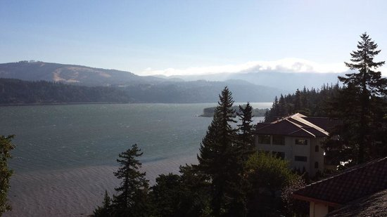 Columbia Gorge Hotel & Spa: View from lookout
