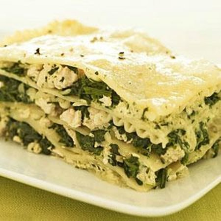Golden Beach Pizza and Pasta: Chicken Pesto Lasagne