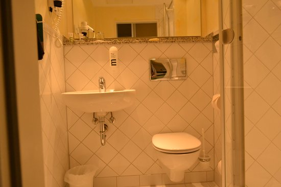 Mercure Parkhotel Krefelder Hof: bath