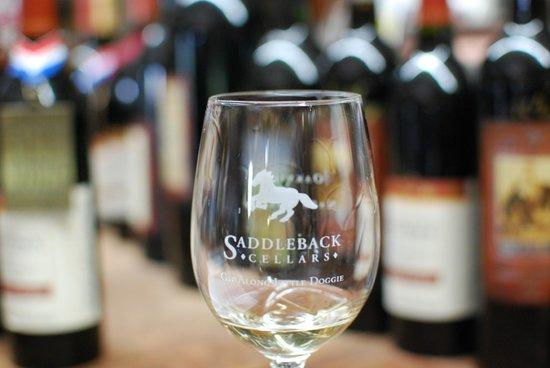 Saddleback Cellars: Glass