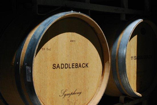 Saddleback Cellars: Barrels