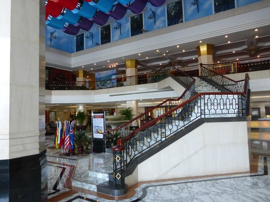 Prime Hotel: Main entry of hotel, July 2013