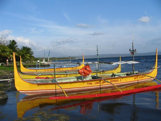 Taal Lake Yacht Club's biggest activity is ferrying tourists to Taal Volcano.