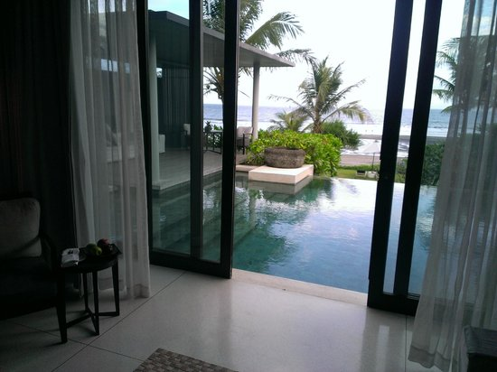 Soori Bali: view from our living room