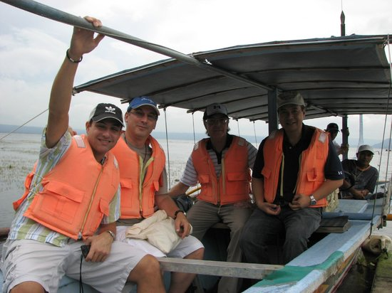 Taal Lake Yacht Club : We have a perfect safety record and all volcano trippers are required t wear life vests.