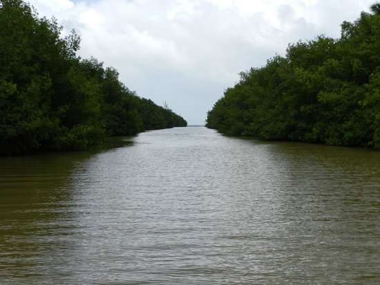 Rio Grande, Puerto Rico: River ends at the Ocean