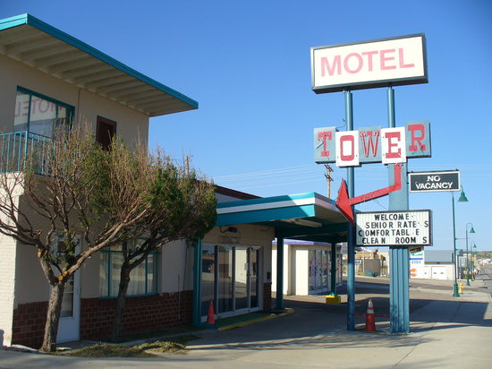 Tower Motel on Route 66
