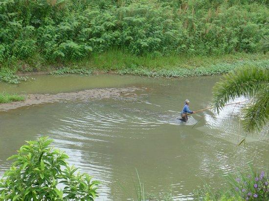 Sukthavorn Residence: fishing