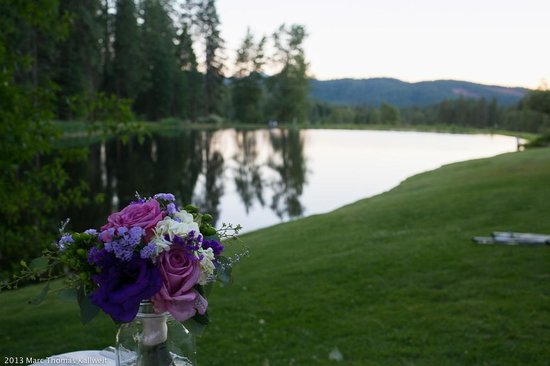 Greenhorn Creek Guest Ranch: Wedding Site