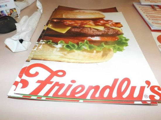 Friendly's: Menu