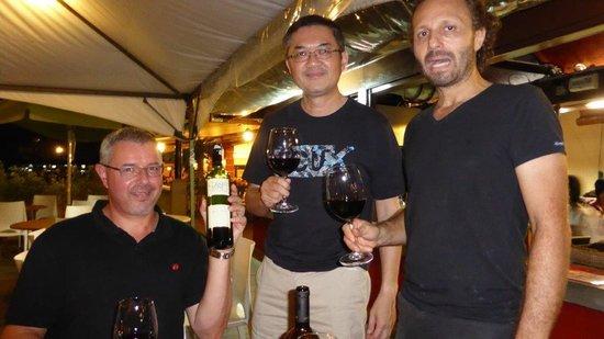 Gusto Food & Wine: Avventori soddisfatti/Satisfied customers