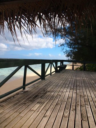 Vai Villas: Huge Private Deck Area