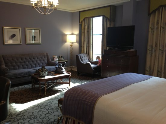 The Peabody Memphis Room 706 Deluxe King