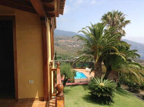 Villas Los Pajeros: Uitzicht vanaf het balkon