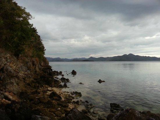 Malcapuya Island: Captured when walking around the island
