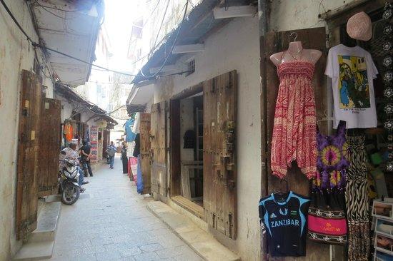 Zanzibar Palace Hotel: Streets of Stone Town