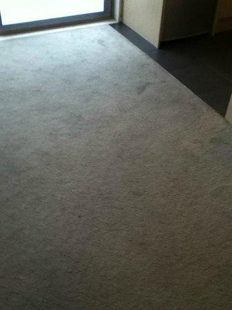 Bianco off Queen: carpet in room