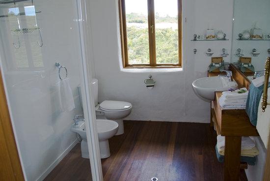 Earthsong Lodge: En-suite bathroom