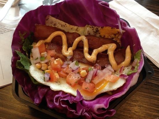 Breakers Deli: breakfast wrap made gluten free