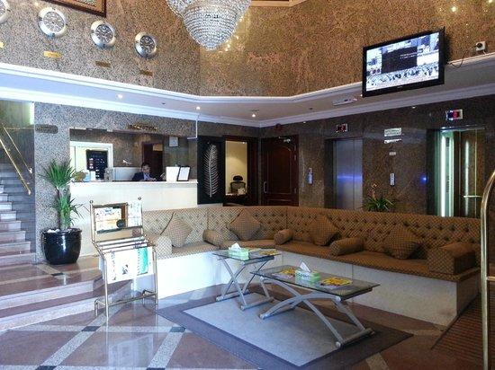 Al-Nakheel Hotel: Lobby