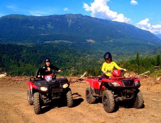 Backcountry Rentals - Day Rentals: Happy Riders enjoying the back roads of BC!