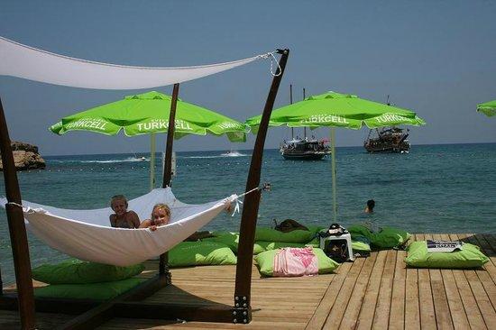 Escape Beach Club: Kuschelecke im Jahr 2012