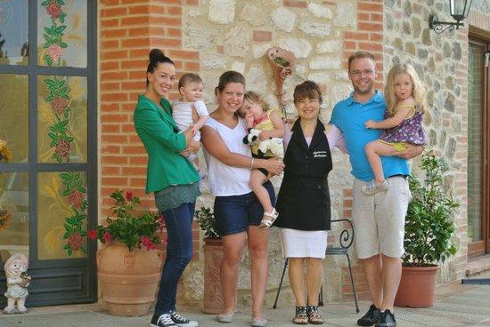 Agriturismo Belagaggio: La photo du départ