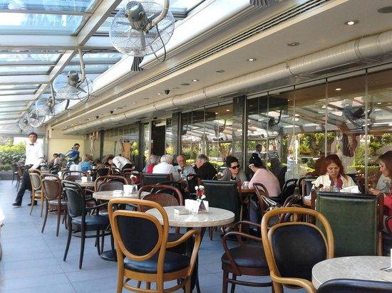 Reyhan Pastanesi: Bahçe manzarası