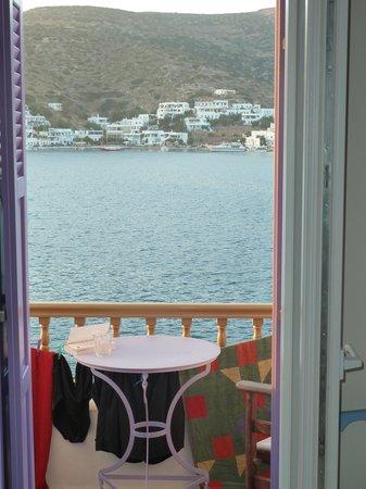 Amorgos Studios: Utsikten från vårt rum