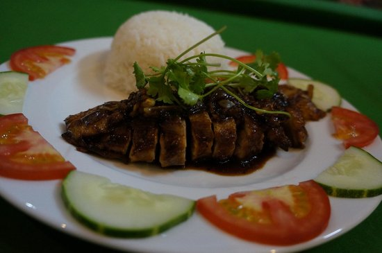 Red Gecko: grilled duck