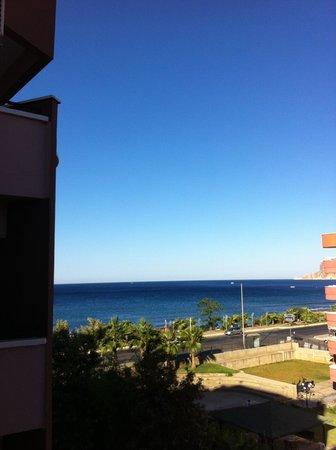 Grand Uysal Apart Hotel: widok z pokoju