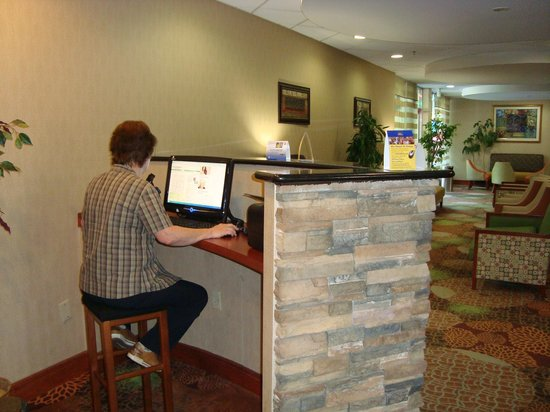 Best Western Plus Towson Baltimore North Hotel & Suites: Kostenlose Internetecke