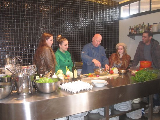 Cooking With The Chef Picture Of Icook Chef Doron Bar On S Farm To Table Kitchen Nazareth Tripadvisor
