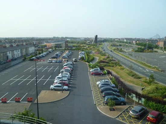 Travelodge Blackpool South Shore: View from room 413