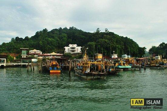 Pulau Pangkor, Malaysia: Fisherman