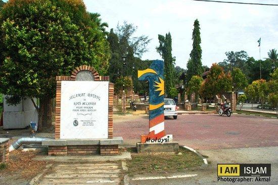 Pulau Pangkor, Malaysia: Kota Belanda, Teluk Gedung